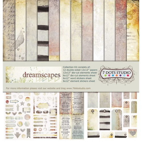 7DOTS STUDIO Dreamscapes 12x12 Collection Kit