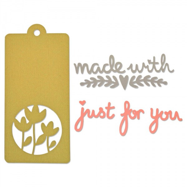 Sizzix Tag and Phrases made with