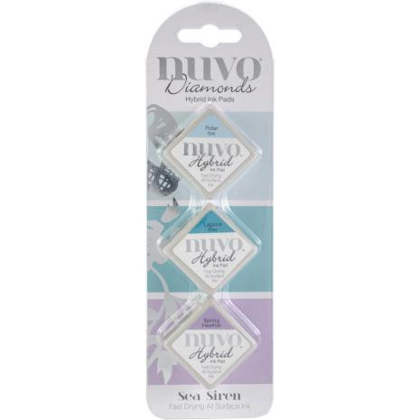 Nuvo Diamonds Hybrid Ink Pads Sea Siren