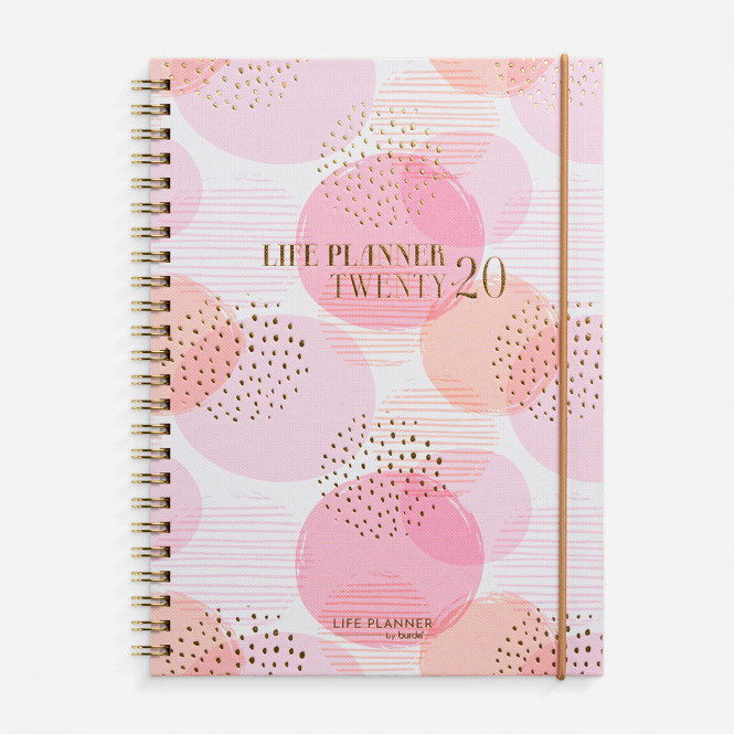 Life Planner Pink 2020
