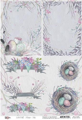 On The Wall A4 paper Nests