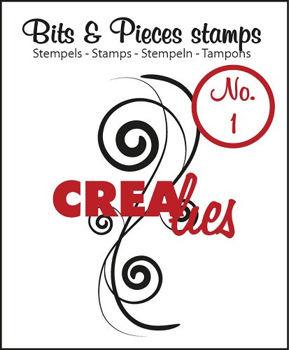 Crealies Bits and Pieces Clearstamp 1