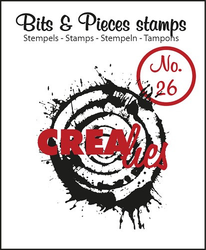 Crealies Bits and Pieces Clearstamp 26