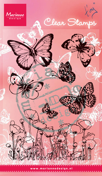 Marianne Design Clearstamp Butterfly 2