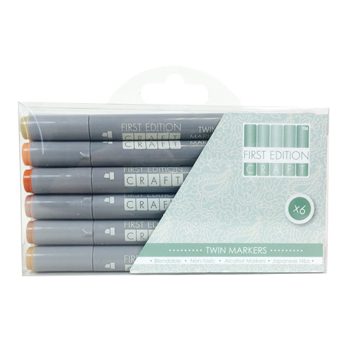 First Edition Twin Markers Browns Permanent