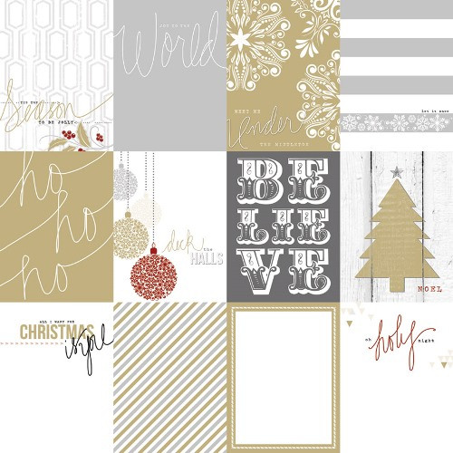 Teresa Collins Tinsel and Company Cards Paper