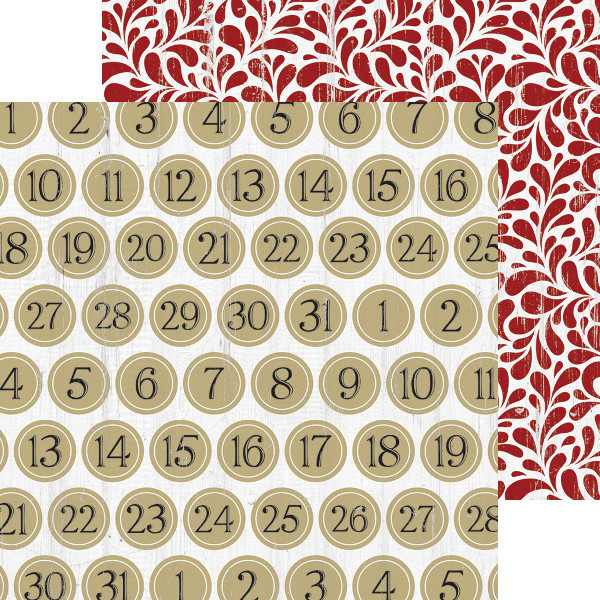 Teresa Collins Tinsel and Company Number Paper