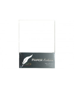 Exclusive Paper Kort, Pearly White A6