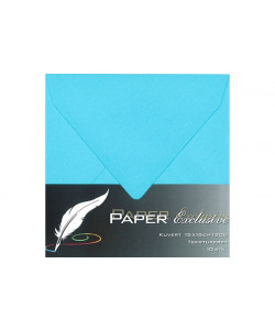 Kuvert, Light Blue, 15 x 15 cm