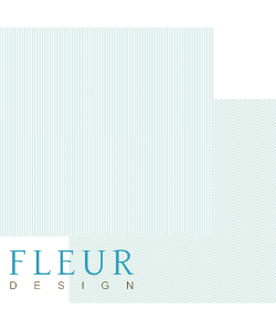 FleurDesign Clean and Simple Heavenly blue