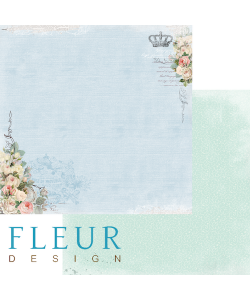 Fleur Design Flowers of Provence Floral Blue
