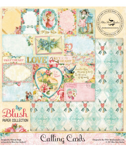 Blue Fern Studios Blush VALINTINE CARDS