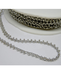 Beads Cord Silver