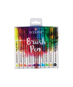 ECOLINE Brush Pen 10-pack