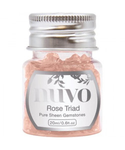 Nuvo Rose Triads Pure Sheen Gemstones