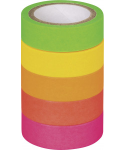 "Deco Tapes ""Neon Rainbow"" neon matt"