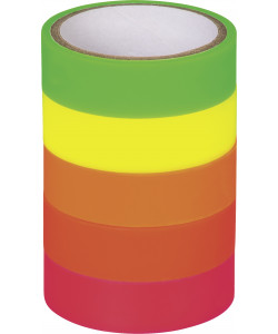 "Deco Tapes ""Neon rainbow"" neon transparent"