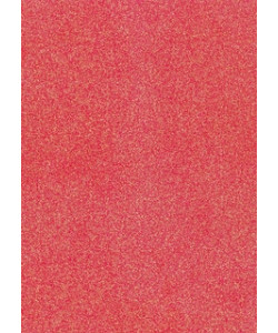Glitter Card A4 Neon Red/Rosa