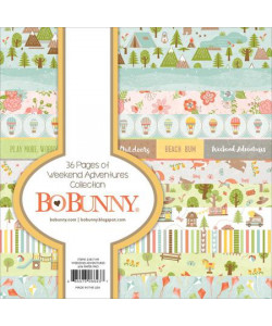 Bo Bunny Paperpack 6 x 6 Down By The Sea Collection