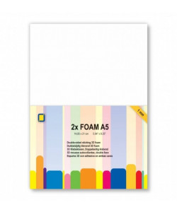 Foam 1 mm A5, 2 ark