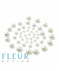Fleurdesign Set of gems Ljus Blå 50 pcs