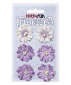 Florella Blomsterpack Lila 3,5 cm