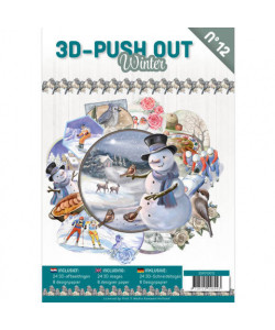 3D-Push Out Book Winter No 12