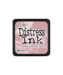 Distress P Mini Victorian Velvet