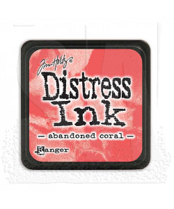 Distress Mini Ink Pad Abandoned Coral