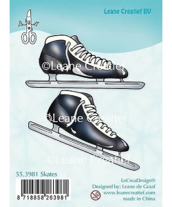 Leane Creatief BV Combi Clear stamp Skates