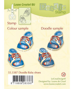 Doodle Baby Shoes clearstamps