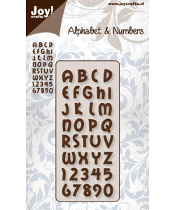 Alphabet and Numbers dies