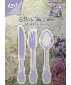 Joy! Crafts Dies Billes Invitation