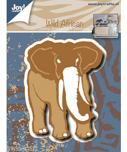 Joy Crafts Dies Wild African Elefant