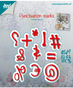 Joy! Crafts Dies Punctuation marks