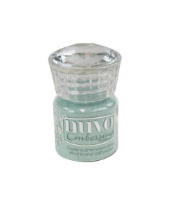 Nuvo Embossing powder Serenity Blue