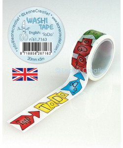 "Leane Washi Tape ""To Do"""