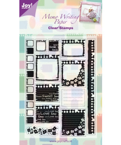 Joy Clearstamp Memo Writing Paper