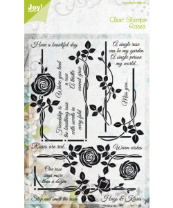 Joy! Crafts Clearstamps Roses