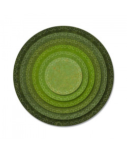 "Sizzix THINLITS DIE ""Stitched Circles"