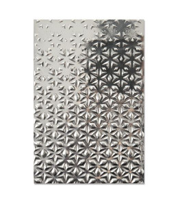 Sizzix 3-D Textured Impressions Embossing Folder Star Fall