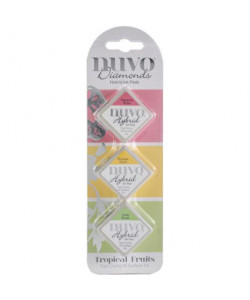 Nuvo Diamonds Hybrid Ink Pads Tropical Fruits