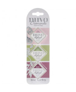 Nuvo Diamonds Hybrid Ink Pads Rose Garden
