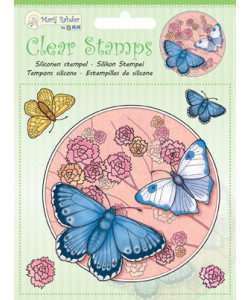 MRJ Clearstamps Butterfly