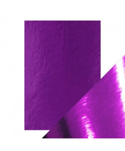 Metallpapper Electric Purple High Gloss