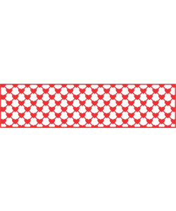 Cheery Lynn Mesh Hearts Border