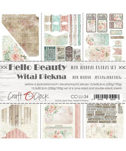 Craft OClock Junk Journal Set Hello Beauty