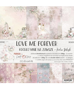 Love Me Forever paperpad 12 x 12