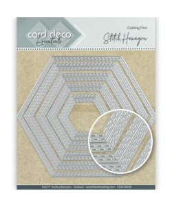 Hexagon double stitched die