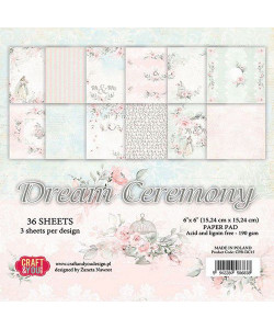 Craft and You Dream Ceremony Paper Pad 6 x 6